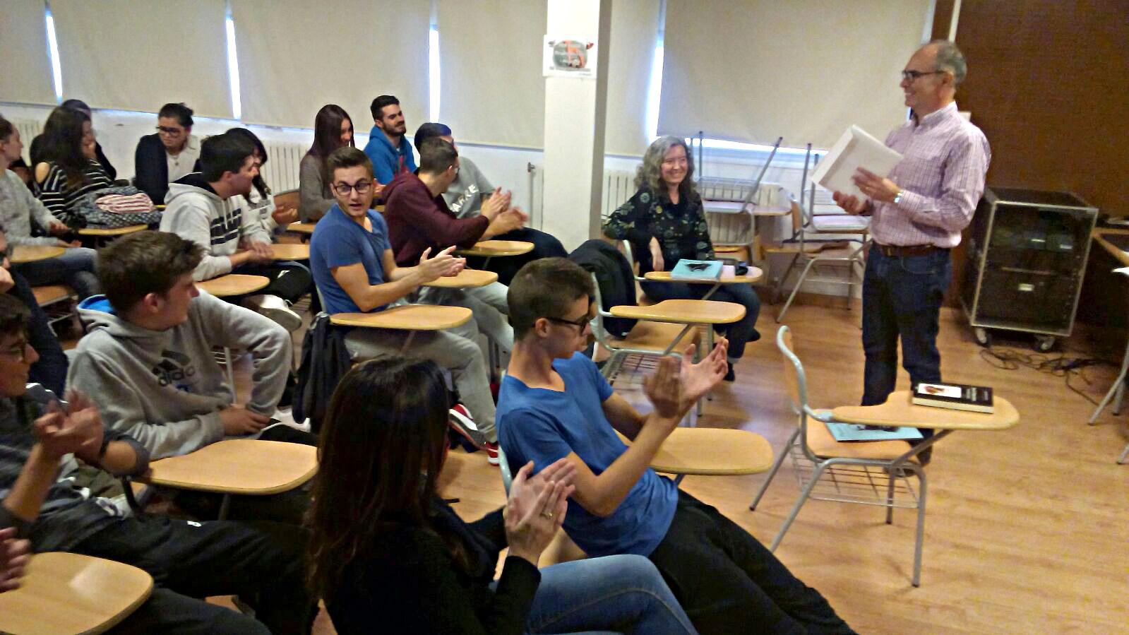Presentació de la unitat didàctica sobre Pastor Aicart. IES Bocairent, 10 de novembre de 2017.