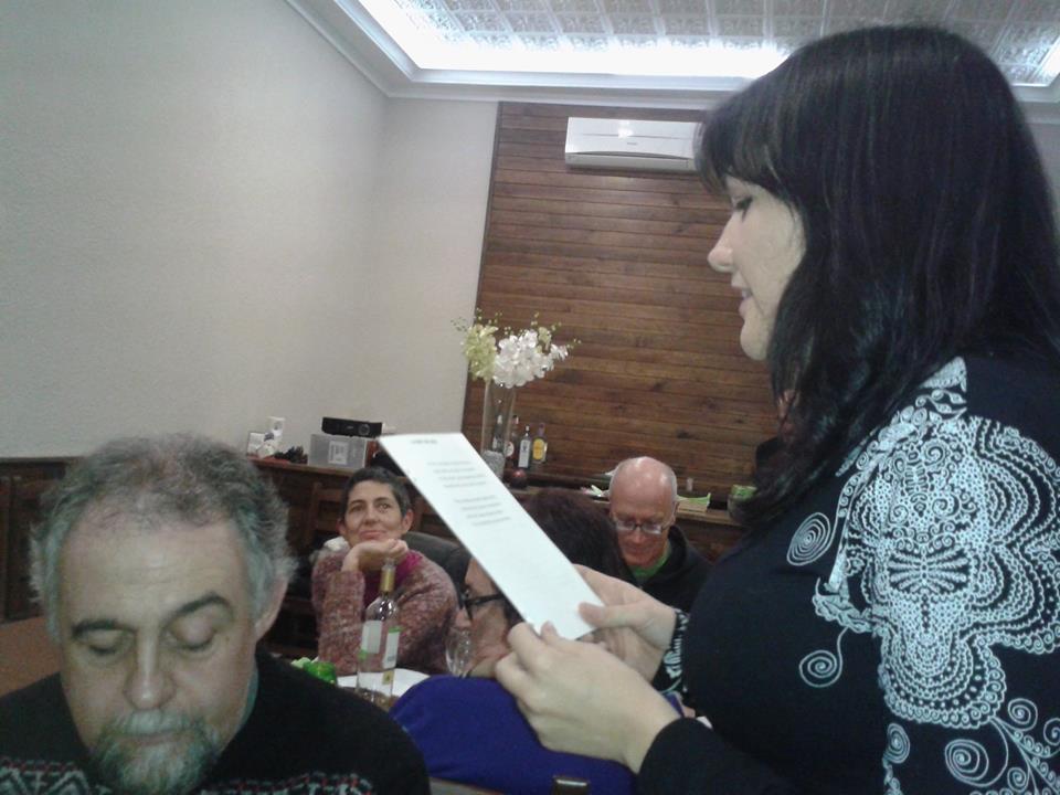 Sopar Corella. Sala Bataclán, Beneixama, 12 de desembre de 2014.
