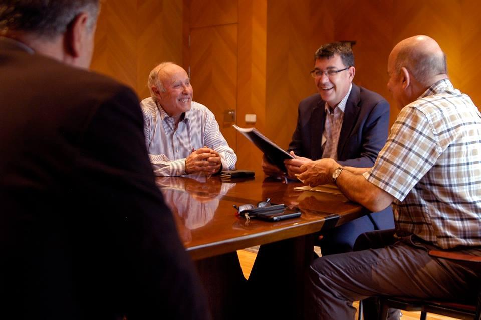 Entrevista amb el president Enric Morera. Corts Valencianes, 19 d'octubre de 2016.
