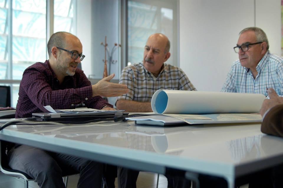 Entrevista amb Xavier Navarro. Institut Cartogràfic Valencià, 19 d'octubre de 2016.