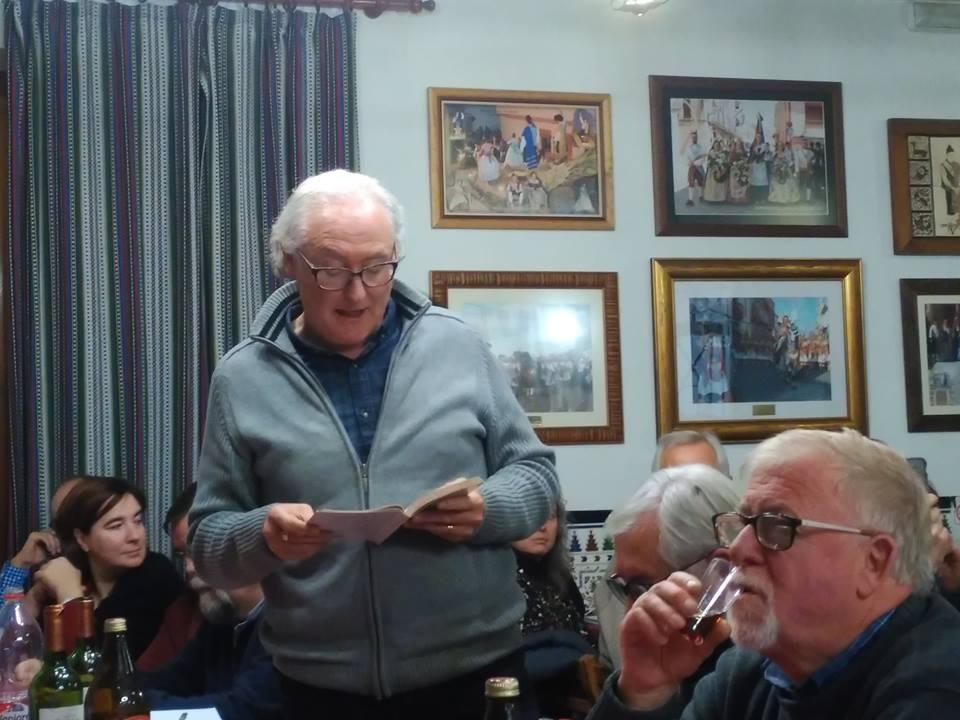 Sopar Joan Fuster. Maset dels Llauradors, Beneixama, 16 de desembre de 2017.