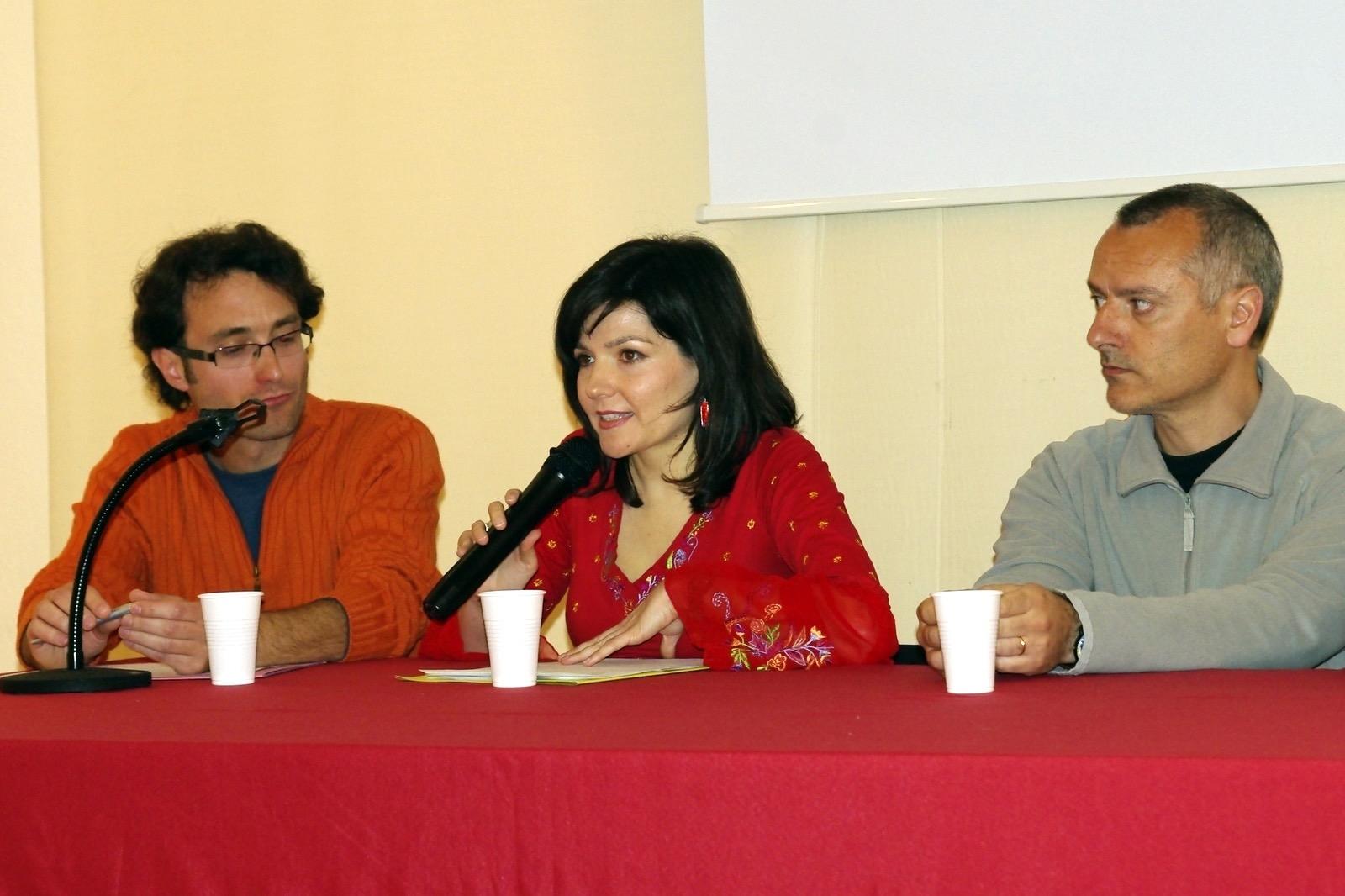 Presentació de l'IEVM. Sala Joan de Joanes, Bocairent, 9 d'abril de 2010.