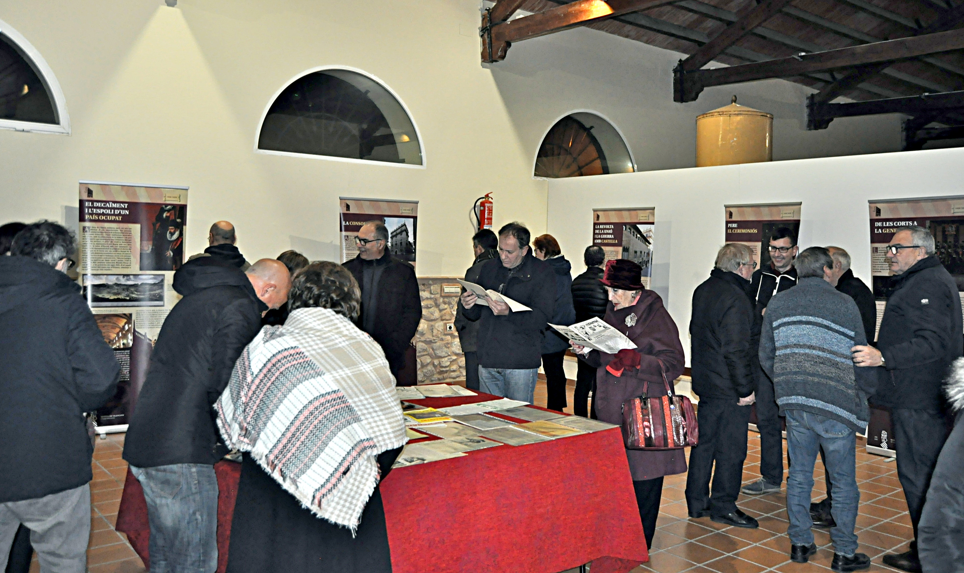 600 anys de la Generalitat Valenciana, 29 de desembre del 2018.